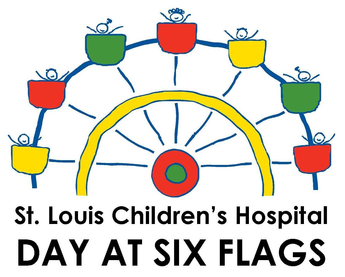 St Louis Children's Hospital Day at Six Flags logo