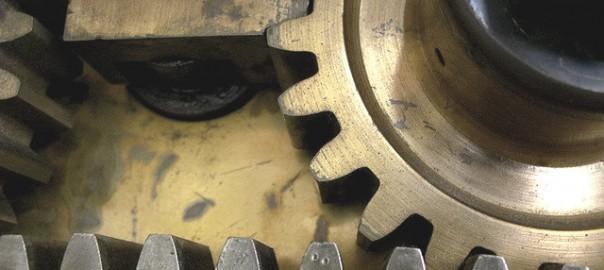 vault door gears